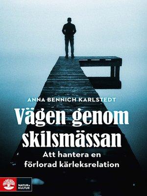 cover image of Vägen genom skilsmässan
