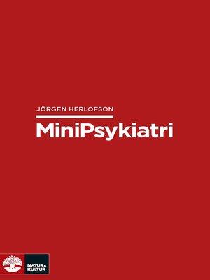 cover image of Minipsykiatri