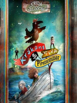 cover image of Kråkans vilda piratsommar