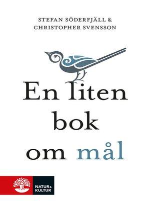 cover image of En liten bok om mål