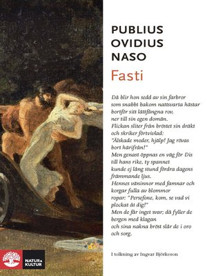 cover image of Fasti