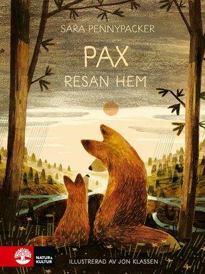 cover image of Pax, resan hem