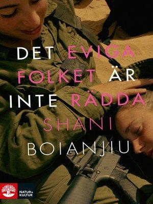 cover image of Det eviga folket är inte rädda