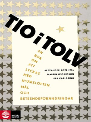 cover image of Tio i tolv