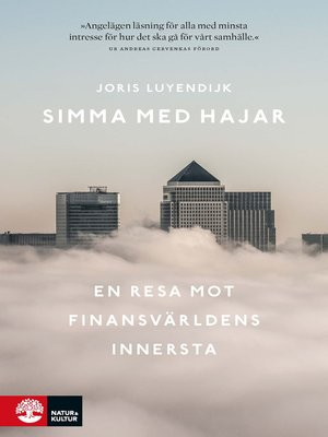 cover image of Simma med hajar