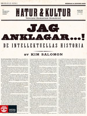cover image of Jag anklagar