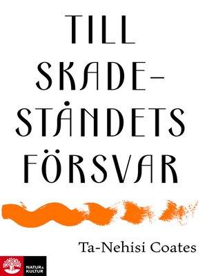 cover image of Till skadeståndets försvar