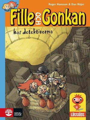cover image of Fille och Gonkan hos detektiverna