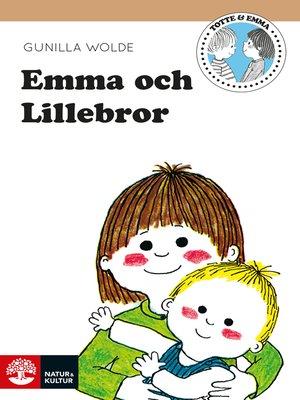cover image of Emma och lillebror
