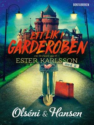 cover image of Ett lik i garderoben
