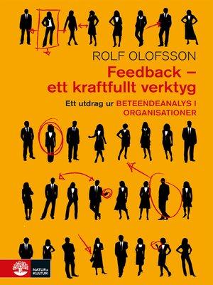 cover image of Feedback – ett kraftfullt verktyg