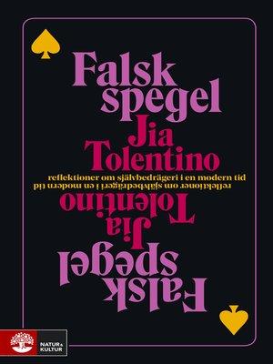 cover image of Falsk spegel