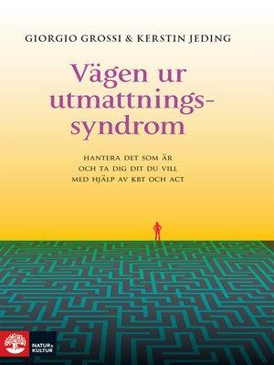 cover image of Vägen ur utmattningssyndrom