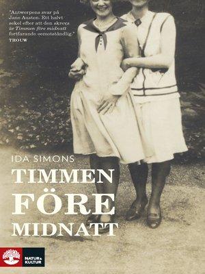 cover image of Timmen före midnatt