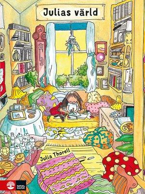 cover image of Julias värld