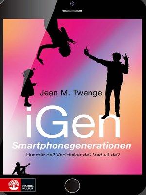 cover image of iGen--Smartphonegenerationen
