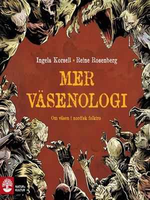 cover image of Mer väsenologi