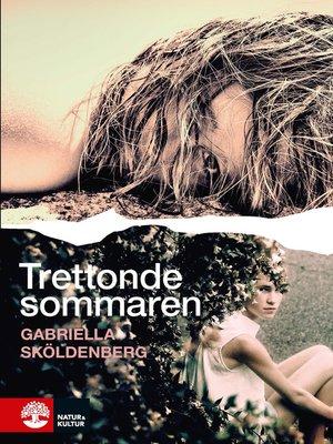 cover image of Trettonde sommaren