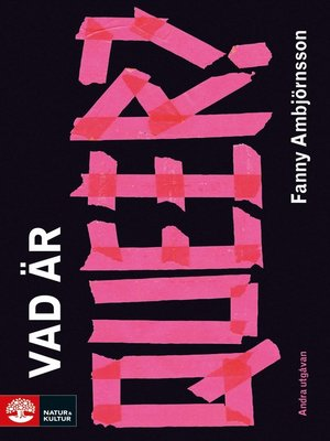 cover image of Vad är queer