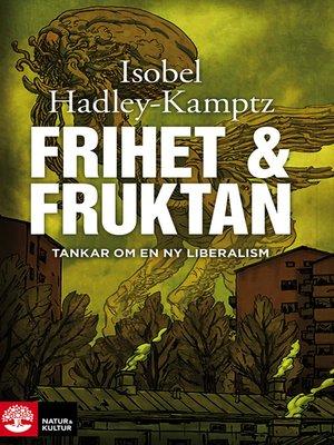 cover image of Frihet och fruktan