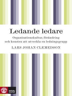 cover image of Ledande ledare
