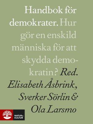 cover image of Handbok för demokrater