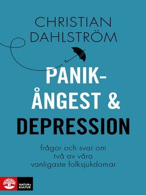 cover image of Panikångest och depression