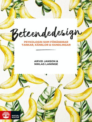 cover image of Beteendedesign