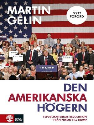cover image of Den amerikanska högern