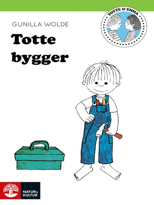 cover image of Totte bygger