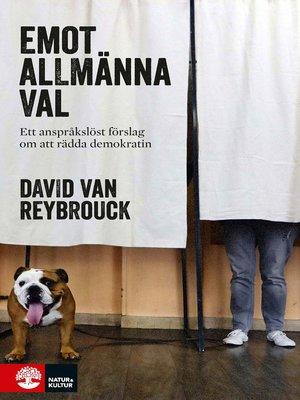 cover image of Emot allmänna val