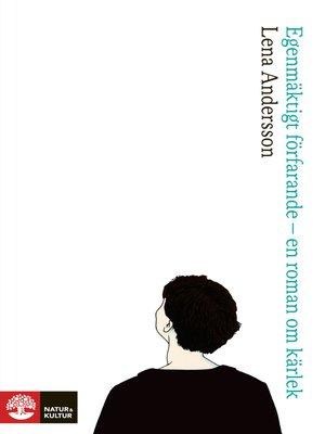 cover image of Egenmäktigt förfarande