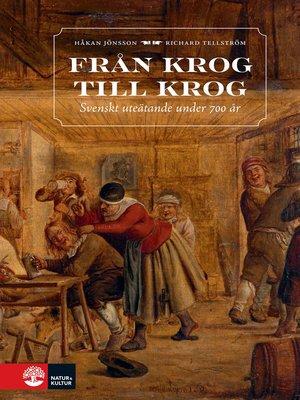cover image of Från krog till krog