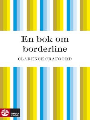 cover image of En bok om borderline