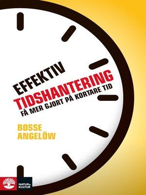 cover image of Effektiv tidshantering