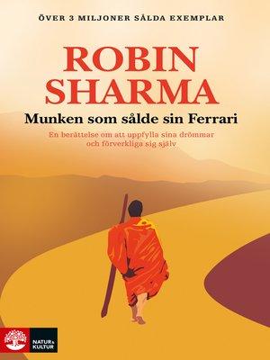 cover image of Munken som sålde sin Ferrari
