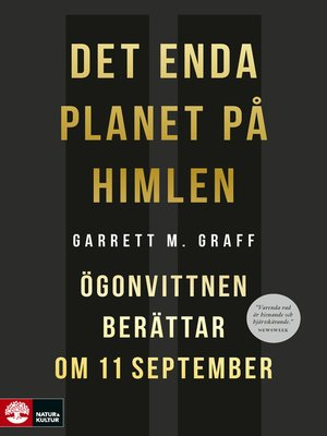 cover image of Det enda planet på himlen