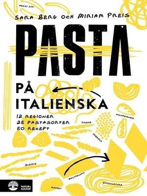 cover image of Pasta på italienska