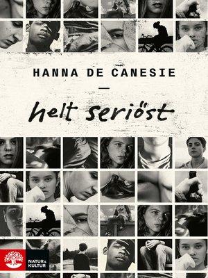 cover image of Helt seriöst