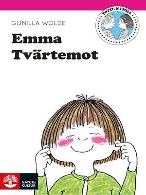 cover image of Emma Tvärtemot