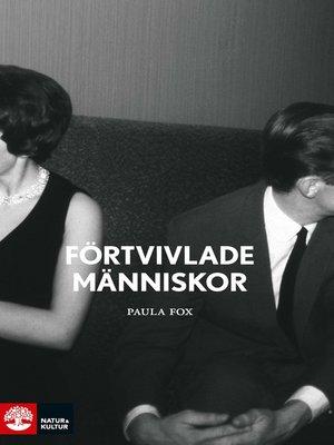 cover image of Förtvivlade människor