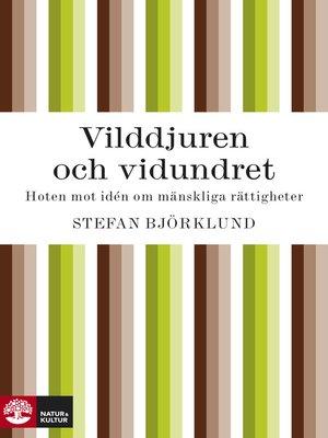 cover image of Vilddjuren och vidundret