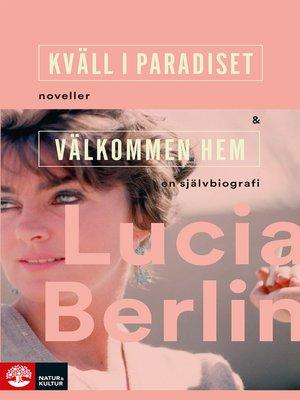 cover image of Kväll i paradiset+Välkommen hem