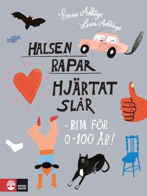 cover image of Halsen rapar, hjärtat slår