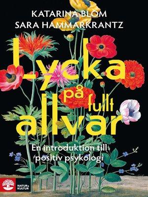 cover image of Lycka på fullt allvar