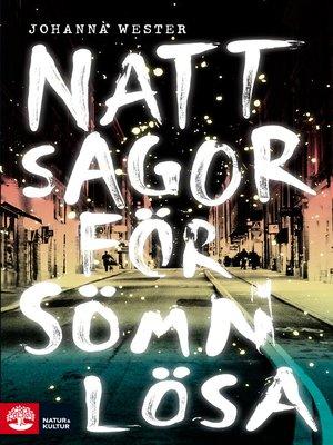 cover image of Nattsagor för sömnlösa