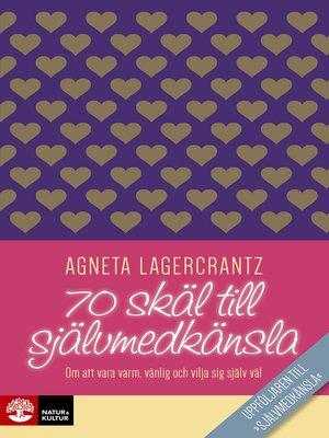 cover image of 70 skäl till självmedkänsla