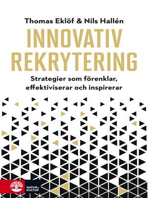 cover image of Innovativ rekrytering