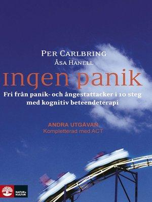 cover image of Ingen panik