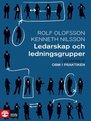 cover image of Ledarskap och ledningsgrupper